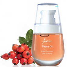 Facial Treatment With Rosehip