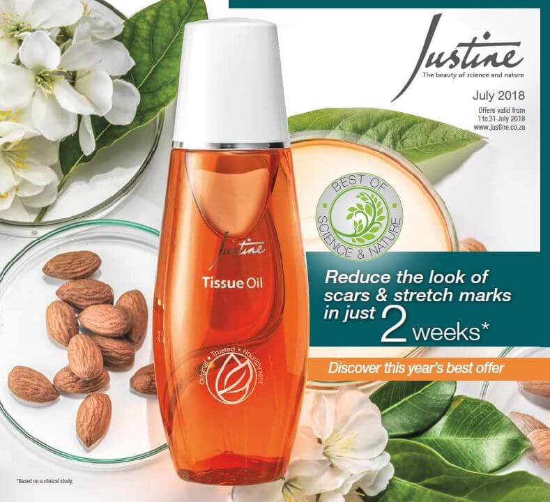 Justine Brochure July 2018 | Justine Skincare Products